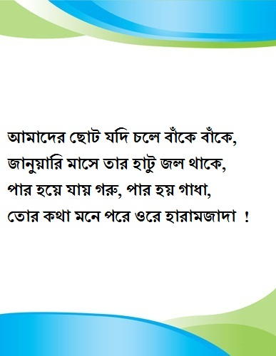 bangla funny sms for friend