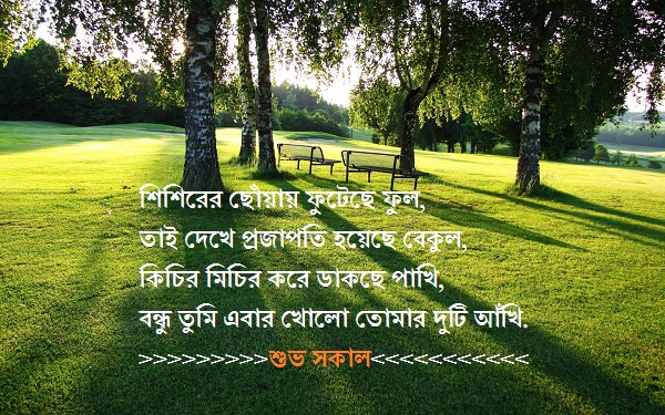 bangla good morning text
