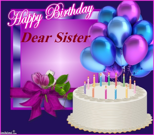 Happy Birthday For Sister Bangla Sms
