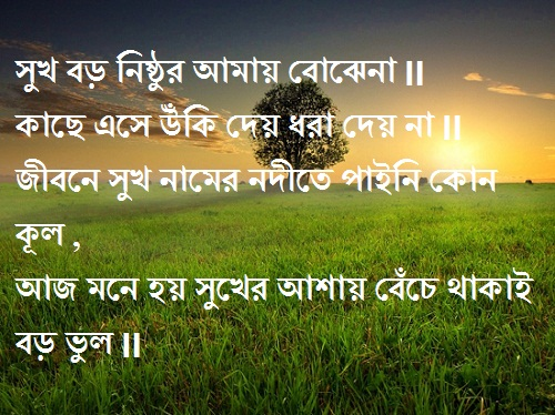 Drowing Sad Love Bangla: Bengali Sad Shayari Romantic Shayari In Bengali Bangla Sad