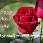 happy rose day bangla pic