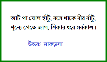 Bangla dhadha মজার ধাঁধা উত্তরসহ with answer