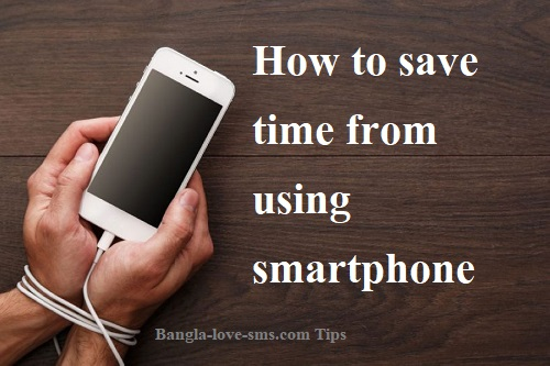 How to save time from using smartphone